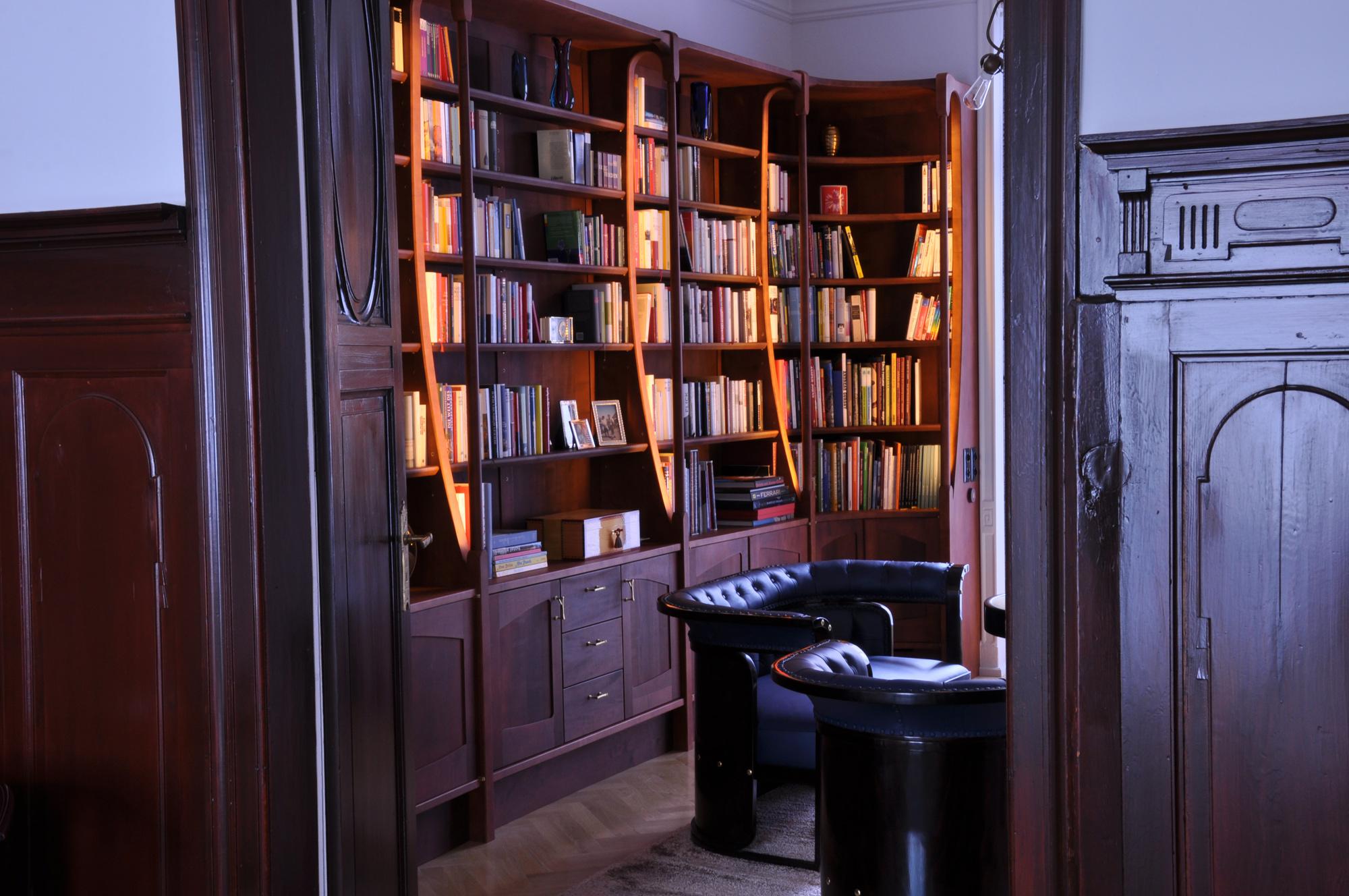 bibliothek michael daschner schreinerei murnau. Black Bedroom Furniture Sets. Home Design Ideas