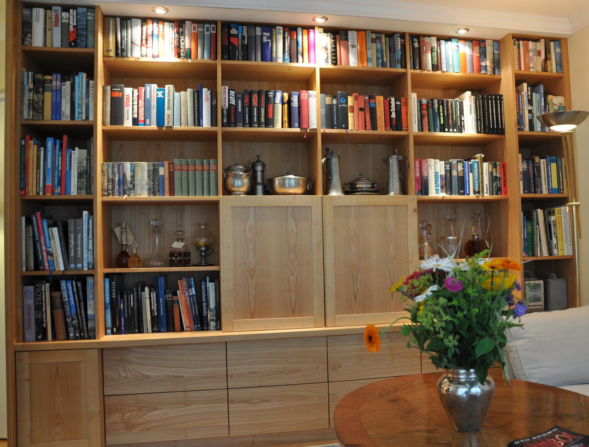 bibliotheken michael daschner schreinerei murnau. Black Bedroom Furniture Sets. Home Design Ideas